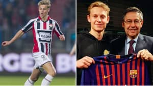 Frenkie De Jong's Transfer Fee Rise From 2015 Is Nothing Short Of Incredible