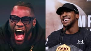Deontay Wilder Claims Anthony Joshua Is Running Scared From Him