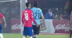 Chile's Gonzalo Jara's Obsession With Touching Players' Private Area Appears To Continue