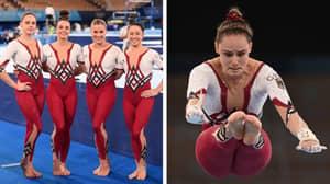 German Gymnastics Team Receive Widespread Praise For Wearing Unitards At Tokyo Olympics