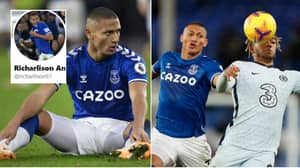 Everton Forward Richarlison Puts Chelsea Supporter Firmly In Their Place on Twitter
