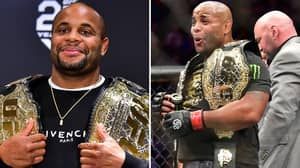 Daniel Cormier Has Relinquished The UFC Light Heavyweight Championship Rather Than Being 'Stripped'