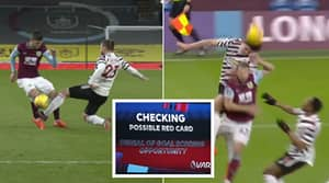 VAR Controversy Dominates The First Half Of Burnley Vs Manchester Unied