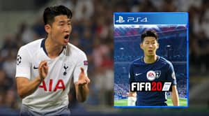 Heung-Min Son Ahead Of Messi, Neymar And Mbappe To Become FIFA 20 Cover Star