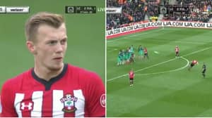 James Ward-Prowse Scores Stunning Free-Kick Against Tottenham Hotspur
