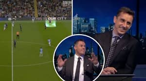 Gary Neville And Jamie Carragher Hilariously Analyse Each Other's Defending In Vincent Kompany's Testimonial