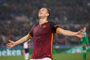 Roma Striker Edin Dzeko Goes On A Bit Of A Rant