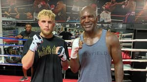 Evander Holyfield Says He'd Take On Jake Paul In A Boxing Match
