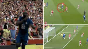 Romelu Lukaku Takes Just 15 Minutes To Score Against Arsenal On His Second Chelsea Debut