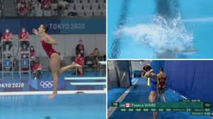 Canadian Diver Pamela Ware Scores 0.0 After Landing Feet-First, Misses Out On Olympics Final