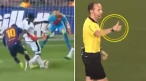 Lionel Messi Displays Superb Sportsmanship By Telling Ref Not To Give Penalty