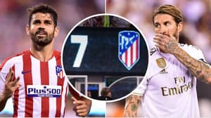 Atletico Madrid Thrash Real Madrid 7-3 In International Champions Cup