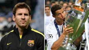 Cristiano Ronaldo Blasts Lionel Messi By Saying He 'Won The Champions League With Different Clubs'