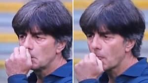 Joachim Low Caught Doing His Usual Antics During England Loss