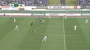 Japanese Team Scores From The Halfway Line TWICE In Under 90 Seconds