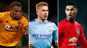 The Premier League's 20 Highest Rated Players If The Season Ended Have Been Revealed