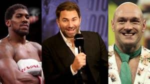Eddie Hearn Reveals Verbal Agreement For Tyson Fury v Anthony Joshua