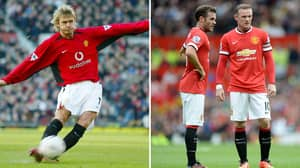 Mata Is On Course To Break Beckham's Free-Kick Record If He Stays At United