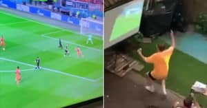 Fan Brilliantly Pranks Neighbours Who Are Watching Euro 2020 Game On Delayed Stream