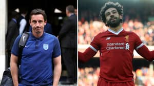 Gary Neville Names 14 Players Better Than Mo Salah In Last 11 Years