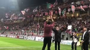 The Incredible Reception Kaka Received On Return To AC Milan Will Give You Goosebumps