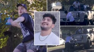 Unseen Footage Of Jake Paul's 'Drive By' Attack On Dillon Danis Proves It Was 'Staged'