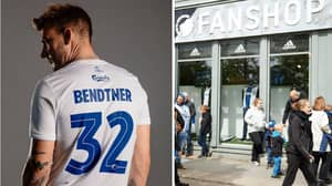 FC Copenhagen's Club Shop Runs Out Of Replica Shirts After Signing Of Nicklas Bendtner