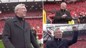 Eight Years Ago Today, Sir Alex Ferguson Walked Out As Man Utd Manager At Old Trafford One Last Time