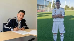 Jose Antonio Reyes' 11-Year Old Son Signs Real Madrid Contract