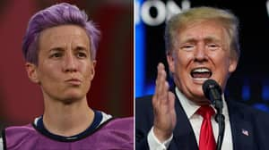 Megan Rapinoe Fires Back At Donald Trump Over His 'Leftist Maniacs' Claim