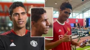 Raphael Varane Chose To Speak English In First Man Utd Interview And Fans Are Very Impressed