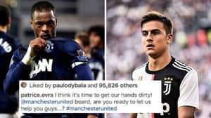 Patrice Evra Says He'd Sign Paulo Dybala For Manchester United