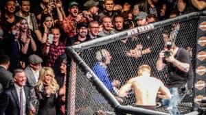 Khabib Nurmagomedov's Incredible Reaction To Conor McGregor Beating Jose Aldo In 13 Seconds