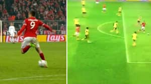 WATCH: Robert Lewandowski Takes The Piss With Sublime Back Heel Assist