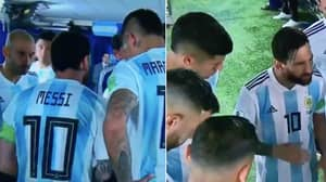 Lionel Messi Proves He's A Leader With Inspiration Half-Time Team Talk
