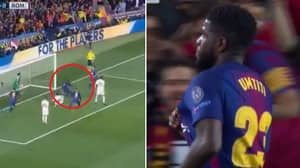How Samuel Umtiti Celebrated OG From Manolas Got Everybody Talking