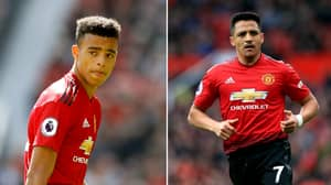Alexis Sanchez 'Furious' After Reported Training Ground Clash With Mason Greenwood