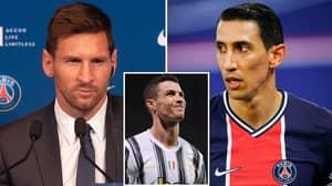 Angel Di Maria Prefers PSG Signed 'Much Better' Lionel Messi Over Cristiano Ronaldo