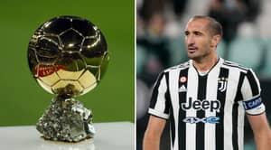 Georgio Chiellini Backs Teammate To Win The 2021 Ballon d'Or award