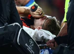 Luke Shaw Sends Heartfelt Message To Demba Ba After Leg Break