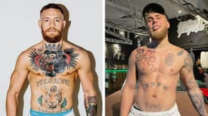 Fans Reckon Jake Paul Got A Tattoo To Mock Conor McGregor
