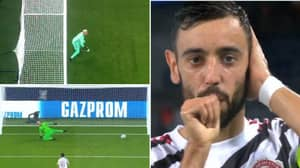 Bruno Fernandes Misses Second Penalty In-A-Row Before Scoring The Retake