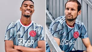 Ajax's Away Kit For The 2020/21 Season Is A Work Of Art