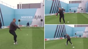 Lee Trundle Recreates His Incredible Shoulder Roll Skill On Soccer AM - He's Still The 'Showboat King'