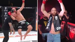 Bellator's David Rickels Comes To The Ring As Stone Cold Steve Austin
