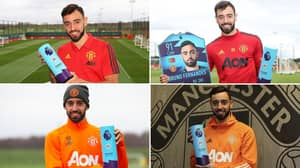 Bruno Fernandes Has Been Named Player Of The Month More Than All But Five Players