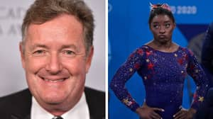 Piers Morgan Slammed By Fans Over 'Disgusting' Simone Biles Comments