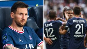 Lionel Messi Is Reportedly Playing A Role In PSG Player Not Starting, He's Very Unhappy