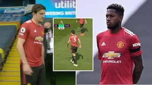 Harry Maguire Called Fred A 'F**king Idiot' During Furious Row Vs Leeds