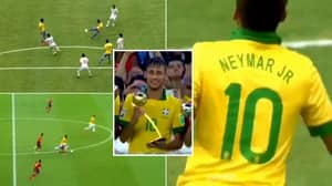 Neymar Was Unplayable For Brazil In 2013 And Embarrassed THAT Spain Team At 21